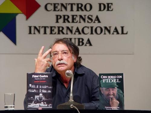 """Entrevista con Ignacio Ramonet, autor de """"Fidel Castro. Biografía a dos voces"""""""
